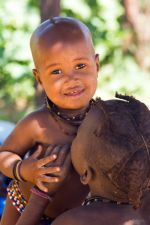 Himba-Kind in Namibia